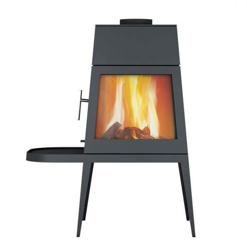 skantherm shaker short left wood stove