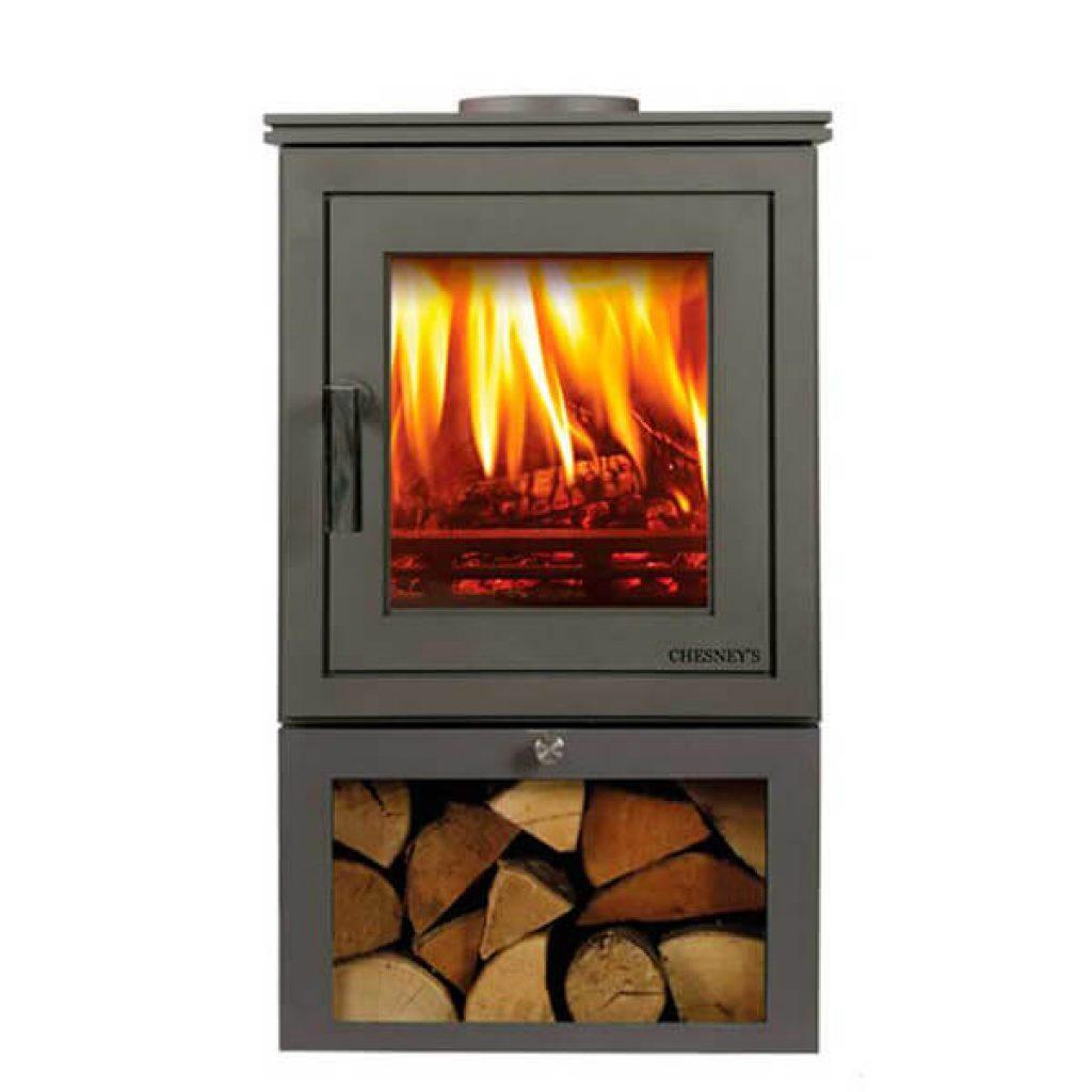 chesneys shoreditch 4 logstore stove