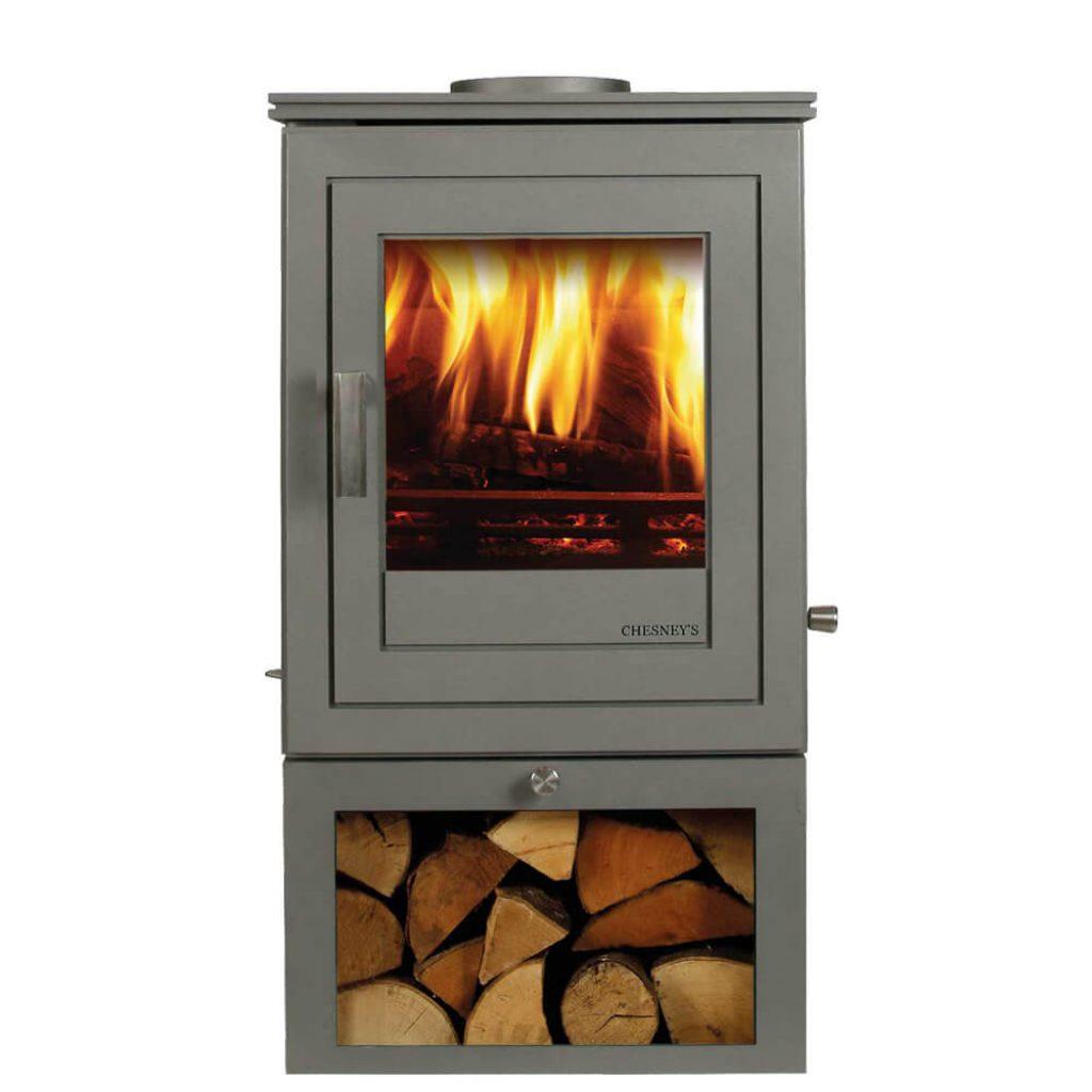chesneys shoreditch 6 logstore stove