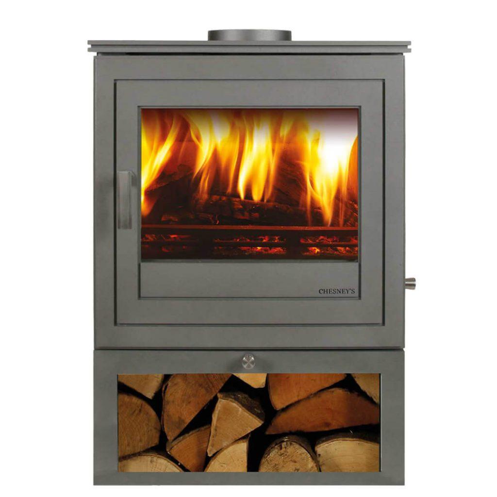 chesneys shoreditch 8 logstore stove
