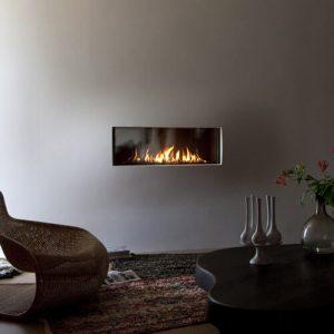 minimalist gas fires tulp b 100 uc rv