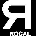 rocal logo white png